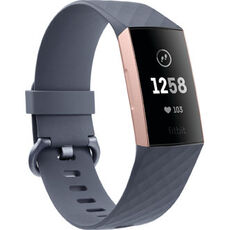 fitbit Charge 3, Fitnesstracker, Rose Gold/Blue Grey