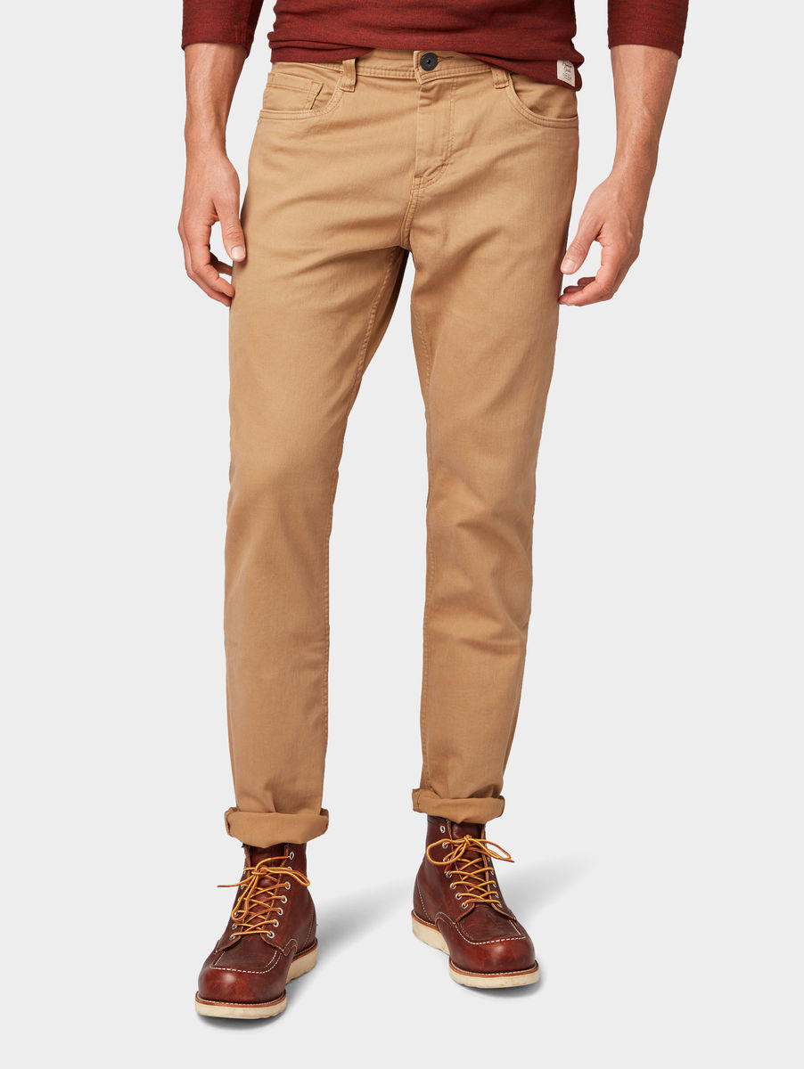 Tom Tailor Josh Regular Slim Hose, Faded Leather Brown   Karstadt ... 44c89300d5