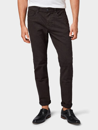 Tom Tailor Josh Regular Slim Hose, Black   Karstadt Online-Shop 064d1ce041