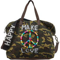 Stuff Maker Damen Shoppertasche Grafffity, camouflage