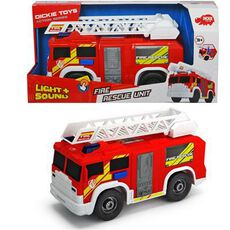 Dickie Toys Action Series Fire Rescue Unit