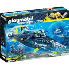 PLAYMOBIL® Top Agents Team S.H.A.R.K. Drill Destroyer 70005