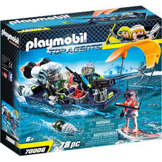 PLAYMOBIL® Top Agents Team S.H.A.R.K. Harpoon Craft 70006