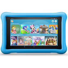 "Amazon Fire HD 8 Kids Edition-Tablet, 8"" (20,3 cm) HD-Display, 32 GB, blaue kindgerechte Hülle"