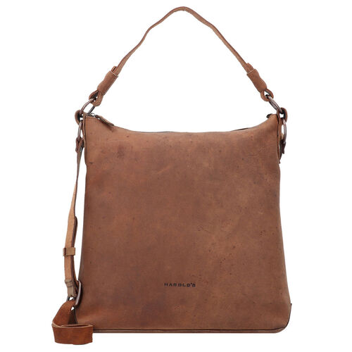 Harold´s Antic Collection Schultertasche Leder 31 cm, natur | Taschen > Handtaschen > Schultertaschen | Harold´s