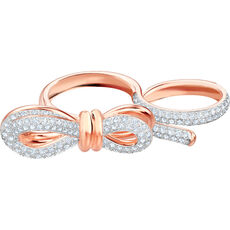 Swarovski Damen Ring Lifelong Bow