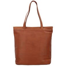 The Chesterfield Brand Bonn Shopper Tasche Leder 35 cm Laptopfach, cognac