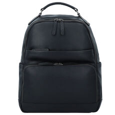 The Chesterfield Brand Austin Businessrucksack Leder 39 cm Laptopfach, schwarz