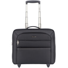 Stratic Unbeatable 3 2-Rollen Business Trolley 42 cm Laptopfach, black