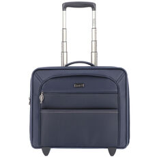 Stratic Unbeatable 3 2-Rollen Business Trolley 42 cm Laptopfach, navy blue