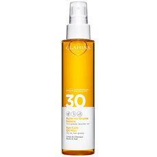 Clarins Huile-en-Brume Solaire Corps & Cheveux UVB/UVA 30, 150 ml