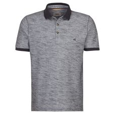 camel active Polo-Shirt Polo regular fit Kurzarm Uni, dark grey