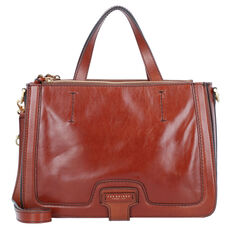 The Bridge Giglio Handtasche Leder 32 cm, brown gold