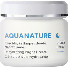 Annemarie Börlind Aquanature Nachtcreme, limited Edition, 75 ml