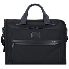 Tumi Alpha 3 Slim Deluxe Aktentasche 40 cm, black
