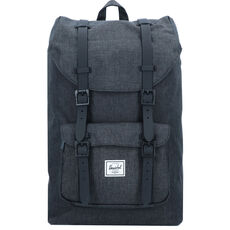 Herschel Little America Mid-Volume Rucksack 44 cm Laptopfach, black crosshatch black