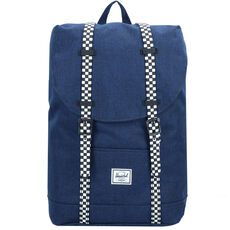 Herschel Retreat Youth Rucksack 30 cm, medieval blue crosshatch checkerboard