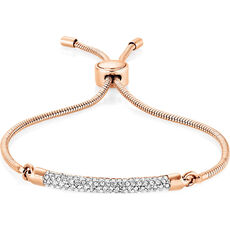 Buckley London Damen Armband, rosévergoldet
