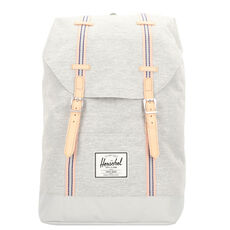 Herschel Retreat Rucksack 47 cm, light grey crosshatch high rise