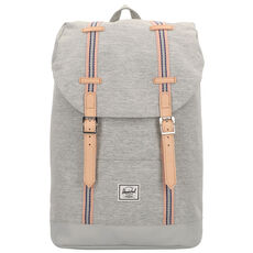 Herschel Retreat Rucksack 38 cm Laptopfach, light grey crosshatch high rise