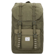 Herschel Little America Rucksack 50 cm Laptopfach, olive night crosshatch olive night