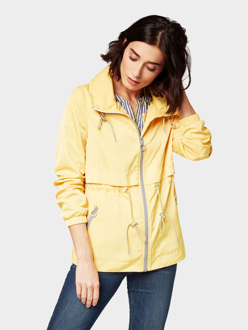 Tom Tailor Jacken & Jackets Windjacke, Milky Sunflower Yellow, XL | Sportbekleidung > Sportjacken > Windbreaker | Tom Tailor