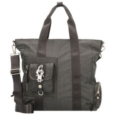 George Gina & Lucy Nylon Mrs Schmidt Handtasche 35 cm, more than grey