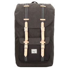 Herschel Little America Rucksack 50 cm Laptopfach, black crosshatch black 2