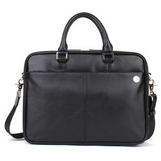 pierre cardin Satellite Aktentasche Leder 39 cm, black