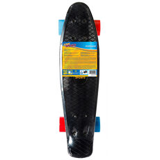 New Sports Kickboard schwarz/orange