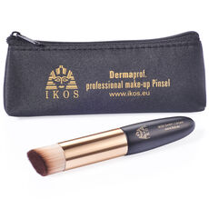 Ikos Cosmetics Foundationpinsel Dermaproof mit Kosmetiktasche