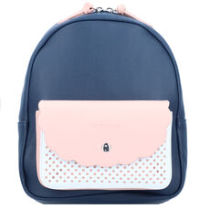 American Tourister Luna Pop City Rucksack 28 cm, dark navy/light pink