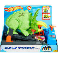 Hot Wheels City Triceratops-Angriff