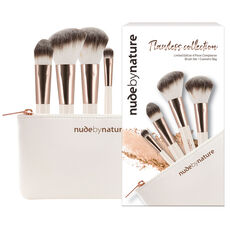 Nude by Nature Pinselset Flawless Collection, 4-teilig
