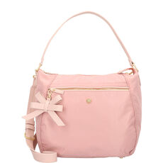 Jette Hobo Schultertasche 40 cm, powder rose