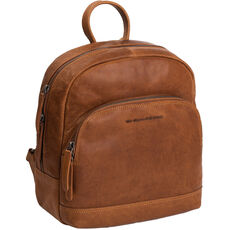 The Chesterfield Brand Wax Pull Up Dortmund City Rucksack Leder 29 cm Laptopfach, cognac