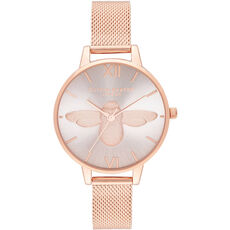 "Olivia Burton Damenuhr Demi Blush ""OB16AM161"""