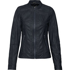 manguun collection Damen Lederjacke