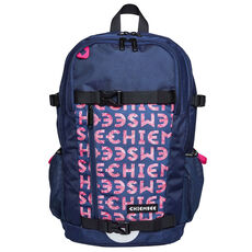 Chiemsee 2-School Rucksack 47 cm Laptopfach, dark blue/pink