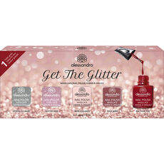Alessandro Get The Glitter Nagellack-Set