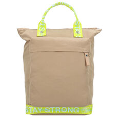 George Gina & Lucy The Modernist Rucksack 42 cm Laptopfach, beige yellow strong