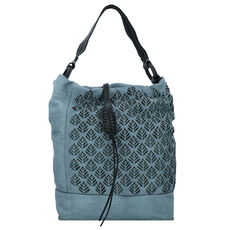 Caterina Lucchi Schultertasche Leder 29 cm, anice