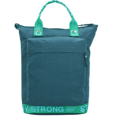 George Gina & Lucy The Modernist Rucksack 42 cm Laptopfach, petrol green strong