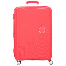 American Tourister Soundbox 4-Rollen Trolley 77 cm, coral red