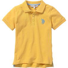 U.S. POLO ASSN. Kinder Polo-Shirt mit Bruststickerei