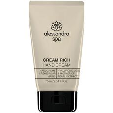 Alessandro Spa Cream Rich Handcreme, 75 ml