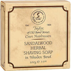 Taylor of Old Bond Street Shaving Soap in Holzschale, 100 g