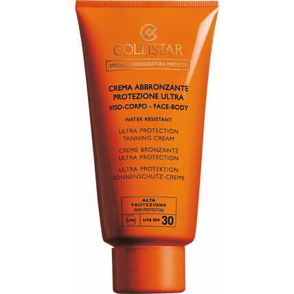 Collistar Ultra Protection Tanning SPF 30, Sonnencreme, 150 ml
