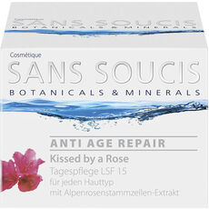 Sans Soucis ANTI AGE REPAIR, Kissed by a Rose, Tagespflege LSF 15, 50 ml