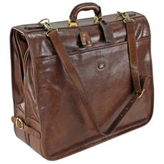 The Bridge Story Uomo Kleidersack Leder 55 cm, marrone-braun